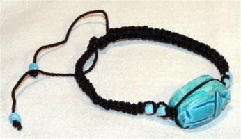 Les porte bonheur mini scarab es scarab es bleus en - Liste de porte bonheur ...